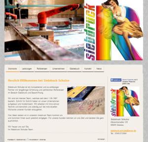 Siebdruck Schulze Dessau